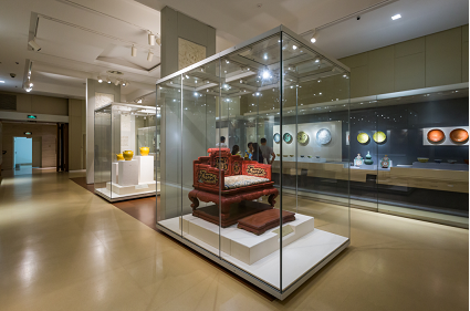 Nanjing Museum Of China  Demountable Showcase six display case fixed together