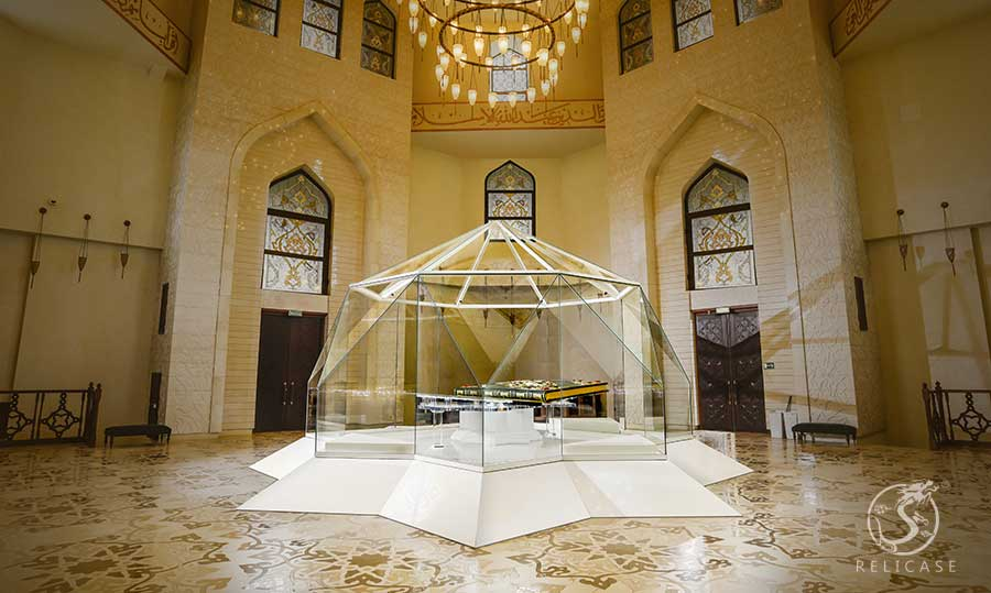 Bolgar Historical and Archaeological Complex-The world's largest printed Quran Relicase