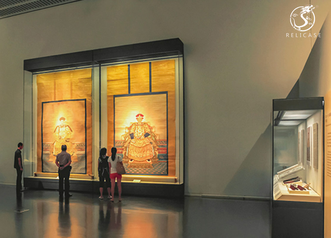 wall display case-National Museum Of China
