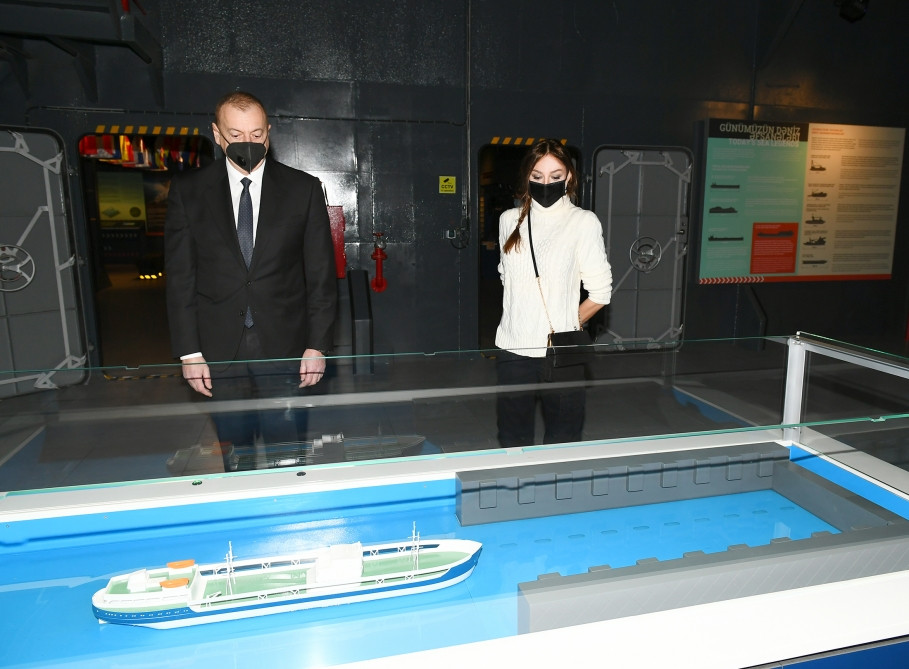 President of Azerbaijan Ilham Aliyev and first lady Mehriban Aliyeva attended the opening ceremony