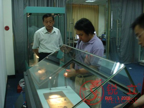 President Wang Yi of Chengdu Museum visited Relicase