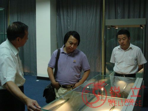 President Wang Yi of Chengdu Museum visited Relicase 1