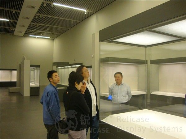 Hong Kong director studied museum display cases 1